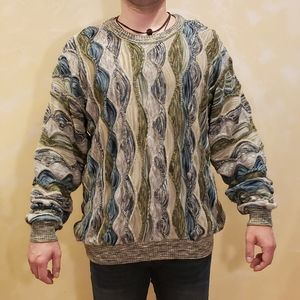 HP💜 Tundra Canada Vintage Patchwork Sweater